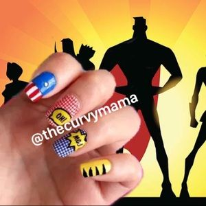 2/$24 incoco nails punch line retired superhero